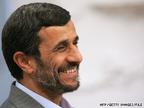 Iranian President Mahmoud Ahmadinejad chided President Obama on Saturday for 'meddling' in Iran.