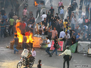 Ayatollah Ahmed Khatami says rioters in Iran will be 'firmly' dealt with if they continue to protest.