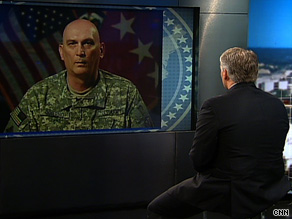 Gen. Ray Odierno, the top U.S. commander in Iraq, said Sunday that it's time for us to move out of the cities.
