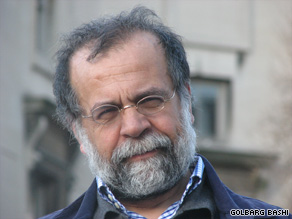 "Hamid Dabashi says protesters in Iran would be harmed by U.S. aid to ""promote democracy"" in that nation."