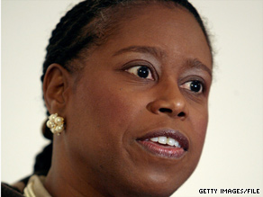 Former U.S. Rep. Cynthia McKinney, D-Georgia, refuses to sign Israeli deportation papers, the U.S. Embassy says.