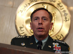 "Gen. David Petraeus says Iraq remains ""very important strategically."""