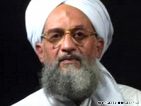 "Ayman al-Zawahiri says on a recent tape, ""Israel is a crime that needs to be wiped out."""