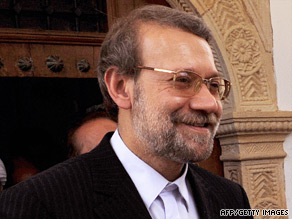 Ali Larijani said a parliamentary probe should examine whether jail rape allegations were true or false.