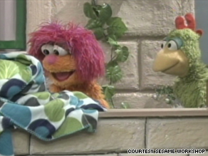 "Haneen and Karim are two of the Muppet stars in ""Shara'a Simsim,"" the Palestinian version of ""Sesame Street."""