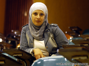 Palestinian Sawsan Salameh is attending an Israeli university after years of negotiations and court proceedings.