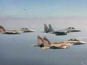 Israel's recent military exercises are seen by some as a show of strength to Iran.