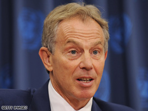 Tougher than before: Blair has become inured to media criticism and focused on his Middle East envoy role.