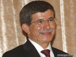 Turkish Foreign Minister Ahmet Davutoglu is looking to restore relations between Iraq and Syria.