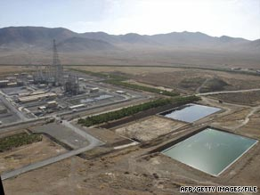 The still-unfinished research reactor at Arak (shown in 2006) was one of two sites visted by inspectors last week.