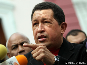 "Chavez: ""Tehran and Caracas should help revolutionary nations through further expansion and consolidation of their ties."""