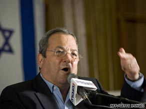 Israeli Defense Minister Ehud Barak has approved construction of housing units in the West Bank.
