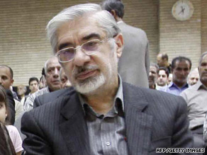 Iranian opposition leader Mir Hossein Moussavi, seen in July, accused the current regime of torturing detainees.