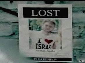 The poster campaign by Israeli group MASA was pulled after three days.