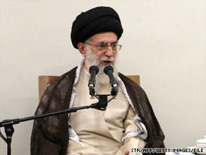 "Ayatollah Ali Khamenei says the U.S. president is following ""anti-Islamic and anti-Iranian"" policies."
