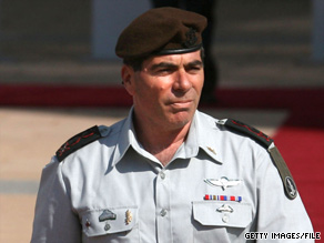 "The Israel Defense Forces chief of staff, Lt. Gen. Gabi Ashkenazi, says, ""Israel has the right to defend itself."""
