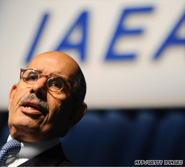 """IAEA Director General Mohamed ElBaradei said Sunday, """"We need transparency on the part of Iran."""""""