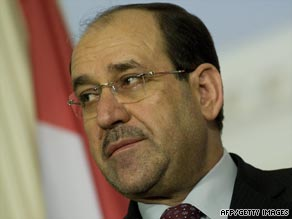 Iraqi Prime Minister Nuri al-Maliki is heading to the White House.
