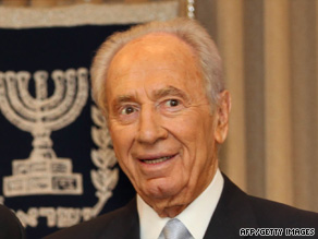 "Israeli President Shimon Peres calls a U.N. report on events in Gaza ""one-sided"" and ""unfair."""