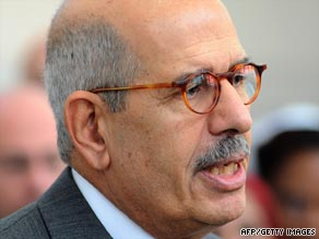 "Mohamed ElBaradei says the agreement is a ""balanced"" approach to the problem."