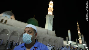 The Hajj: A perfect storm for swine flu?