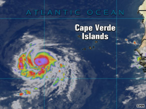 Hurricane Fred is a Category 1 storm in the Atlantic, but it's not expected to make landfall.