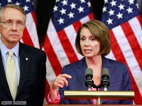 Obama will meet with Reid and Pelosi Monday along with GOP leaders.