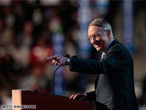 Sen. Harry Reid responded Sunday to a recent newspaper report about his conversation with Illinois Gov. Rod Blagojevich.