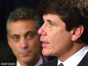 Gov. Blagojevich names dates to hold a special election to fill former Rep. Rahm Emanuel&#039;s congressional seat.