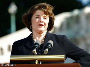 Sen. Dianne Feinstein said she will hold a hearing on the matter.
