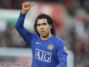 Carlos Tevez has struggled for playing opportunities this season.