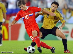 Zenit St Petersburg and Russia forward Andrei Arshavin could be heading to Arsenal if wages are agreed.