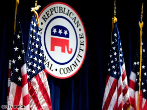 The election for RNC chairman will take place on Jan. 30.