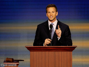 Schock spoke at the Republican National Convention in September of last year.
