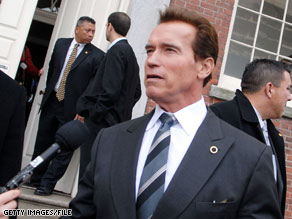 Schwarzenegger said the mix of tax hikes and budget cuts will have 'a positive impact' for California.