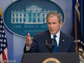 Bush said Monday Republicans must broaden their appeal.