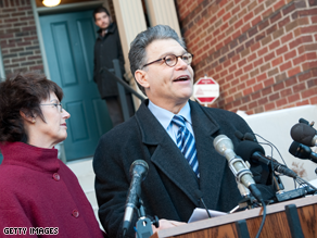 Franken's request to certify the election has been denied.