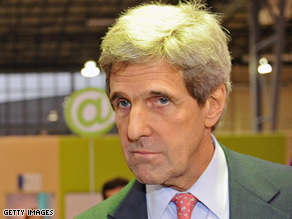Kerry is the chairman of the Senate Foreign Relations Committee.