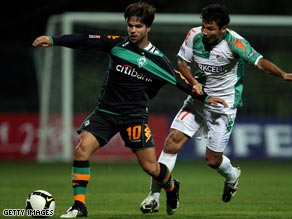 Werder Bremen&#039;s Brazilian, Diego, left, is attracting interest at Juventus.