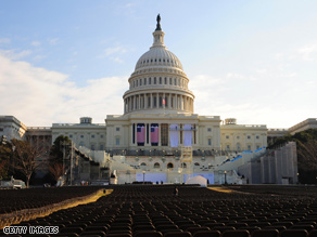 How many people will show up for the swearing-in?