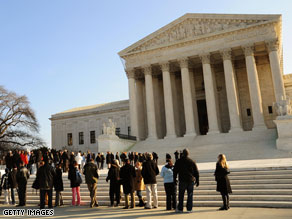 The incoming president and vice president will meet with the Supreme Court Wednesday.