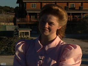 Betty Jessop at the FLDS compound.
