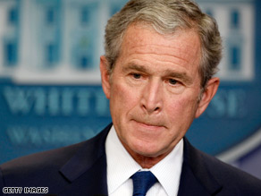 Pres. Bush will make a prime-time address to the nation on Thursday night.