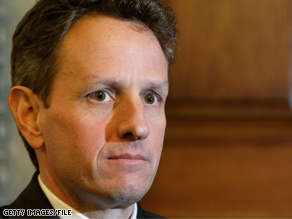 The Obama transition team has made arrangements for a current Treasury official to stay on if Timothy Geithner is not confirmed by the time of Obama's swearing-in.