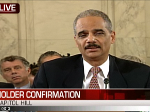 Holder said Wednesday Waterboarding is torture.
