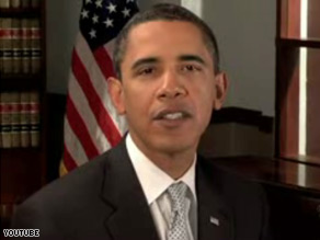 Obama's weekly transition addresses -- like the one above -- were all posted on YouTube.
