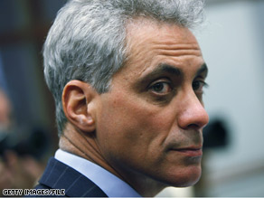 White House Chief of Staff Rahm Emanuel's salary has maxed out.