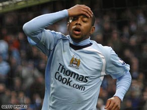 Could Robinho be on the brink of quitting Manchester City after just half a season?