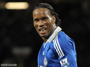 Didier Drogba: Set to become a City gent?