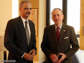 Holder is set to meet with Specter later Thursday.